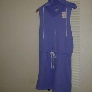Flirtitude Hooded Dress Junior Size L